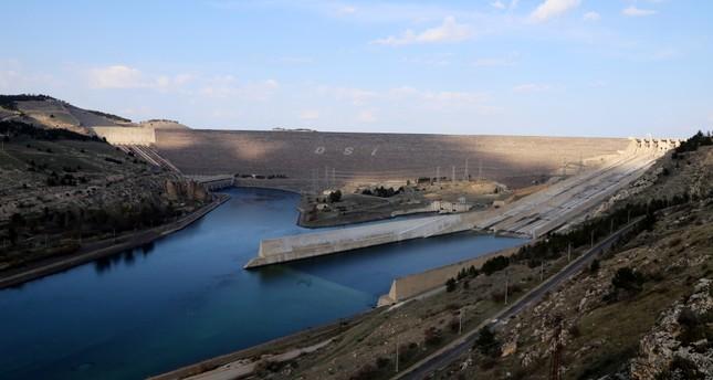 A hydroelectric power plant in eastern Turkey.