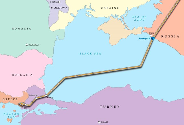 Petrofac to build $404 million worth gas receiving terminal in TurkStream project