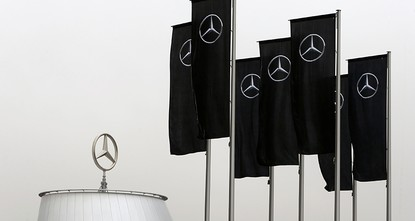 pGerman automaker Daimler AG says prosecutors will search several of its offices in Germany as part of a preliminary investigation into suspected manipulation of diesel emission...