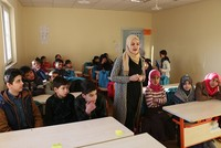 After fleeing civil war and violence in their country, 120 Syrian students have continued their education through intensive Turkish courses in the southeastern city of Siirt, and many are now...
