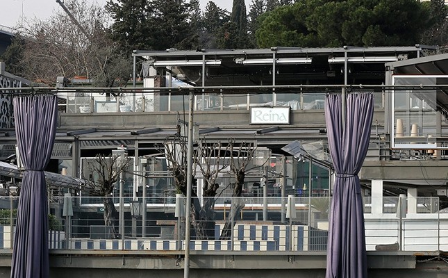 A general view of the Reina nightclub from the Bosporus early morning on Jan. 1, 2017. (EPA Photo)