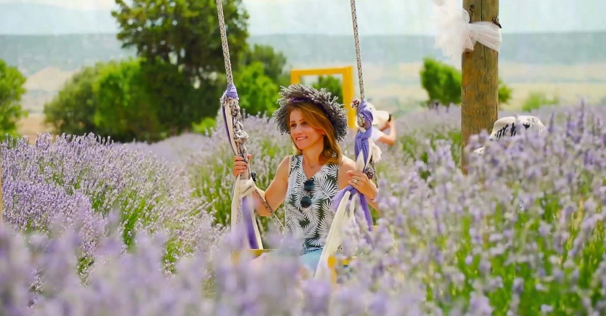 Turkish farmers are currently cultivating lavender in an area of 10,000 decares while the total area of lavender cultivation was recorded at 8,700 decares last year.
