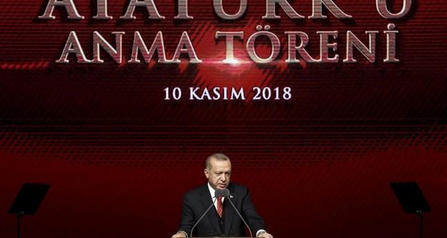 بمشاركة أردوغان.. تركيا تحيي الذكرى الـ80 لرحيل أتاتورك