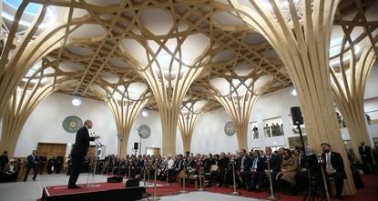 Erdoğan inaugurates eco-friendly mosque in Britain