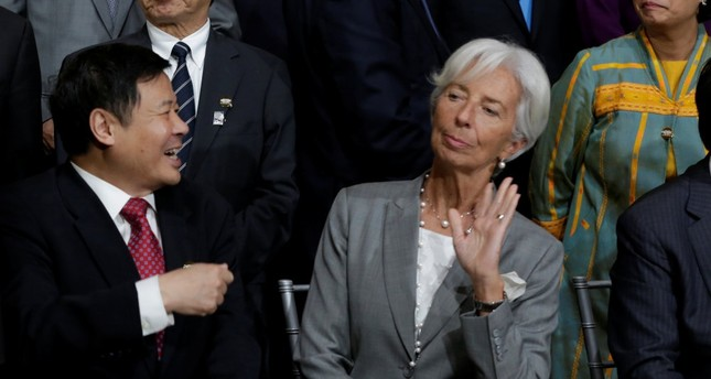 IMF's Lagarde urges leaders to find ways to spread wealth