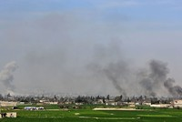 Assad regime forces cut eastern Ghouta in half, monitor says