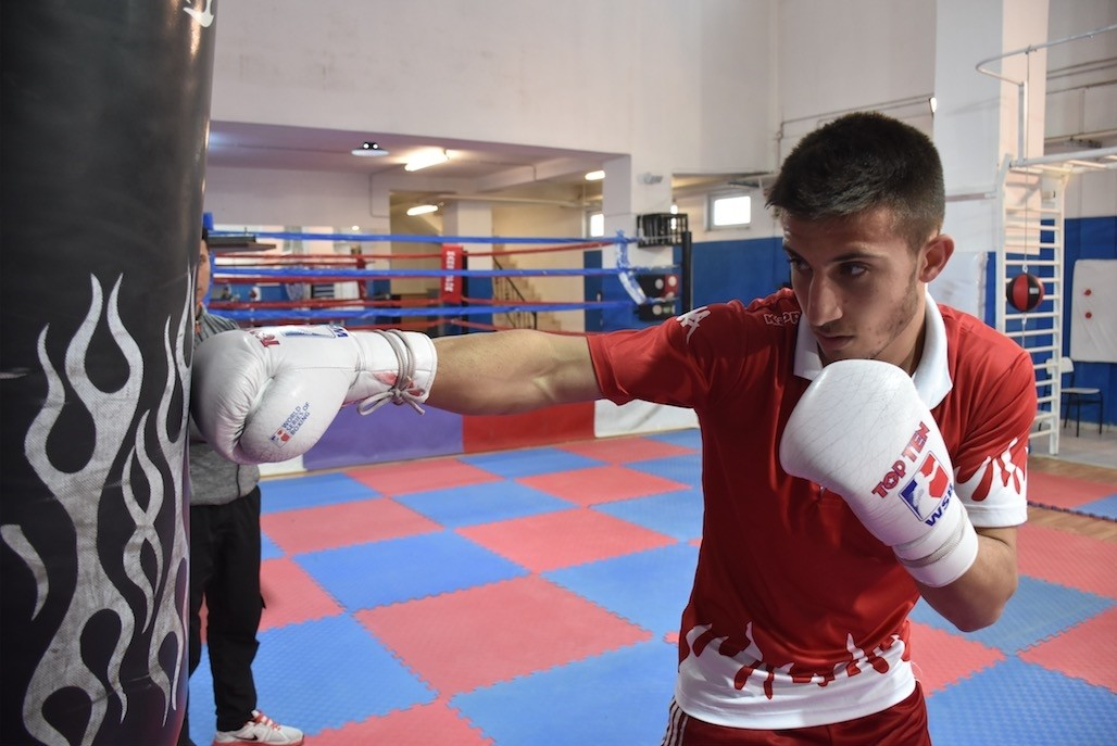 Tuu011frul Erdemir is now preparing for the U22 European Confederation Youth Boxing Championship and Mediterranean Games.
