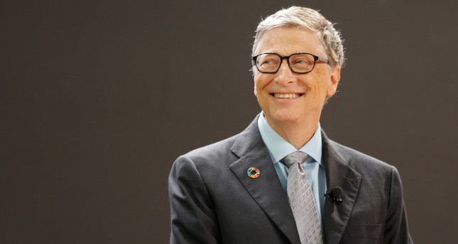 Bill Gates speaks at the Bill and Melinda Gates Foundation Goalkeepers event in Manhattan, New York, U.S., September 20, 2017. (REUTERS Photo)