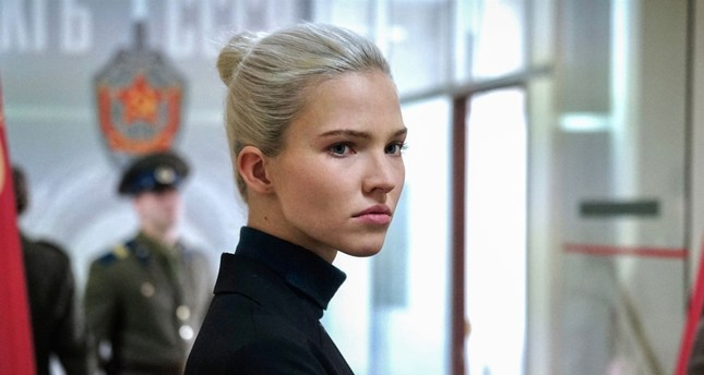 Sasha Luss plays the superhero agent character Anna.