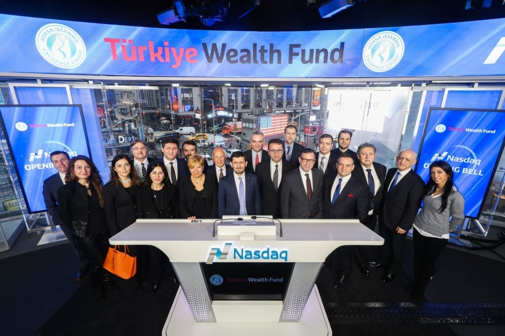 On Jan. 24, the Nasdaq session began with the gong rang by Borsa Istanbul CEO Himmet Karadau011f and Nasdaq Vice President David Wicks in celebration of Turkey's SWF.