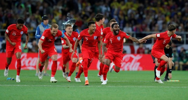 Image result for england celebrate penalties