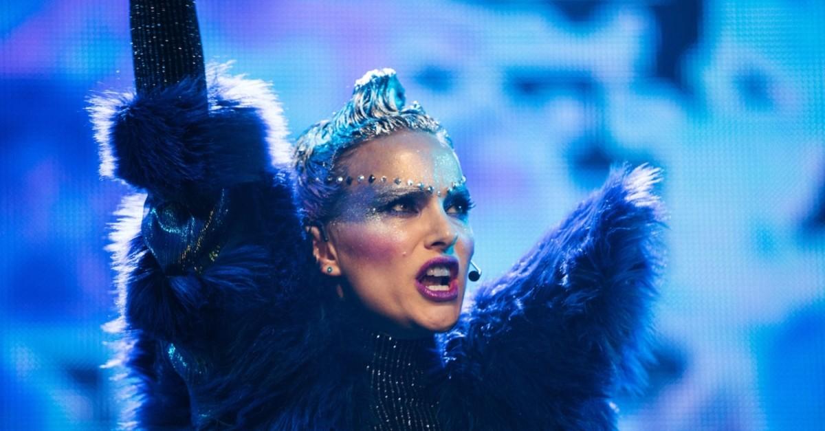 Natalie Portman in the role of Celeste in ,Vox Lux.,