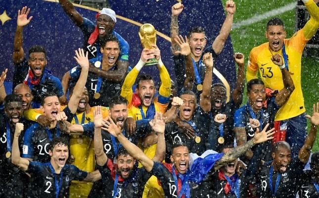 Франция во второй раз в истории стала чемпионом мира