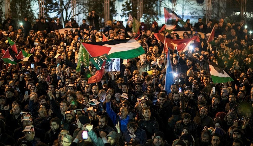 Protests in Ustanbul