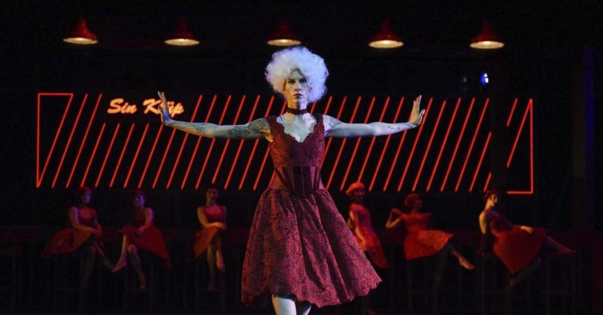 Photo shows a scene from the modern dance performance u201cJizel,u201d courtesy of u0130DOB.