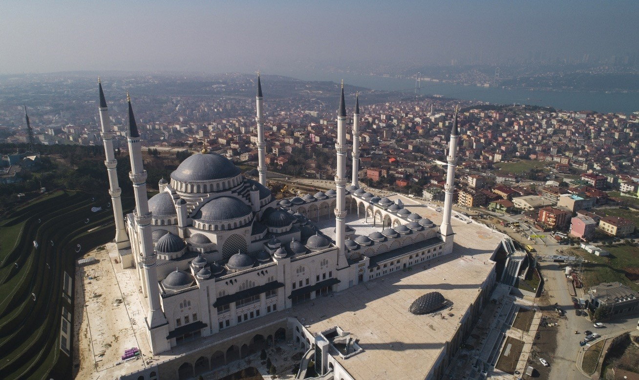 The mosque which bears the hallmarks of Ottoman and Seljuk architecture, is more than a place of worship and hosts additional venues like a conference hall and a museum.