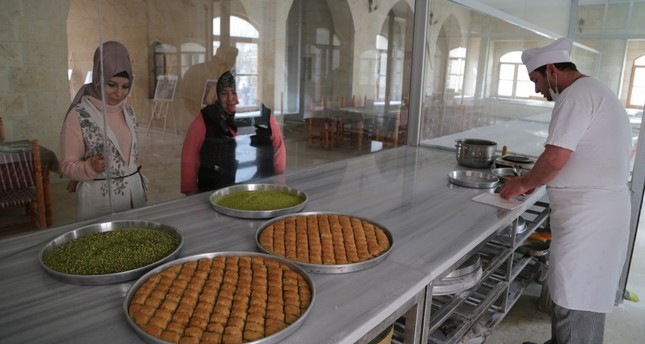 Museum of Turkey's signature dessert, baklava, opens in Gaziantep