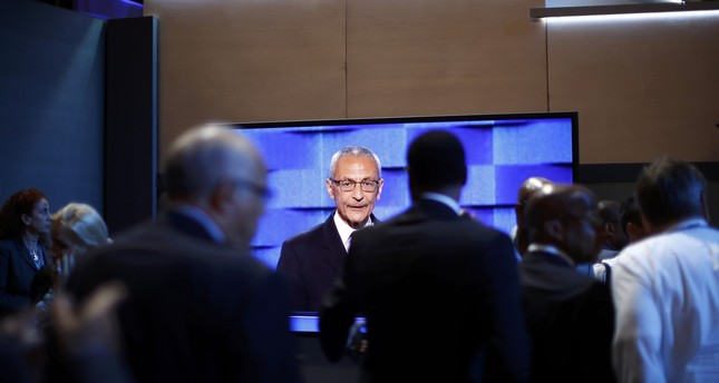John Podesta speaks during the first session at the Democratic National Convention in Philadelphia, Pennsylvania, U.S. July 25, 2016. (REUTERS Photo)