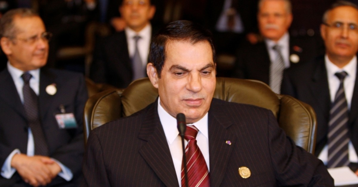 Tunisian President Zine al Abidine Ben Ali attends the opening of the two-day Arab Summit in Damascus March 29, 2008 (Reuters File Photo)