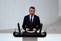 Operation Peace Spring aims to preserve Syria's territorial integrity, VP Fuat Oktay says