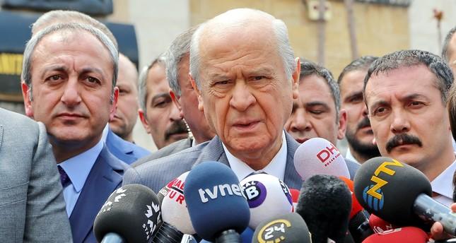 زعيم الحركة القومية: السياسة التركية ستشهد إعادة هيكلة عقب الاستفتاء