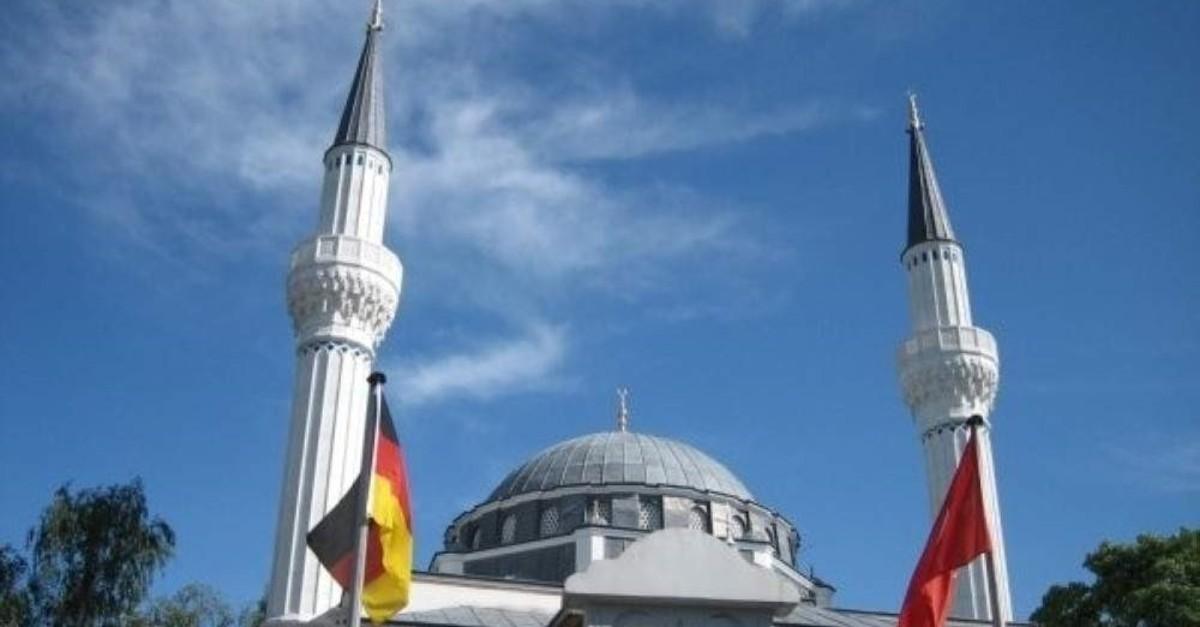 The u015eehitlik Mosque in Berlin. (Sabah File Photo)