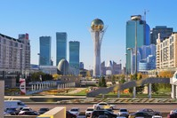 العاصمة الكازاخستانية