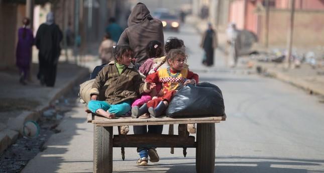 متحدث أممي: 34 ألف نازح عراقي بسبب المعارك في الموصل ومحيطها