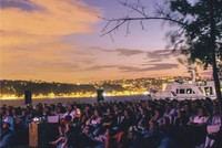 Summer film nights on shores of Bosporus
