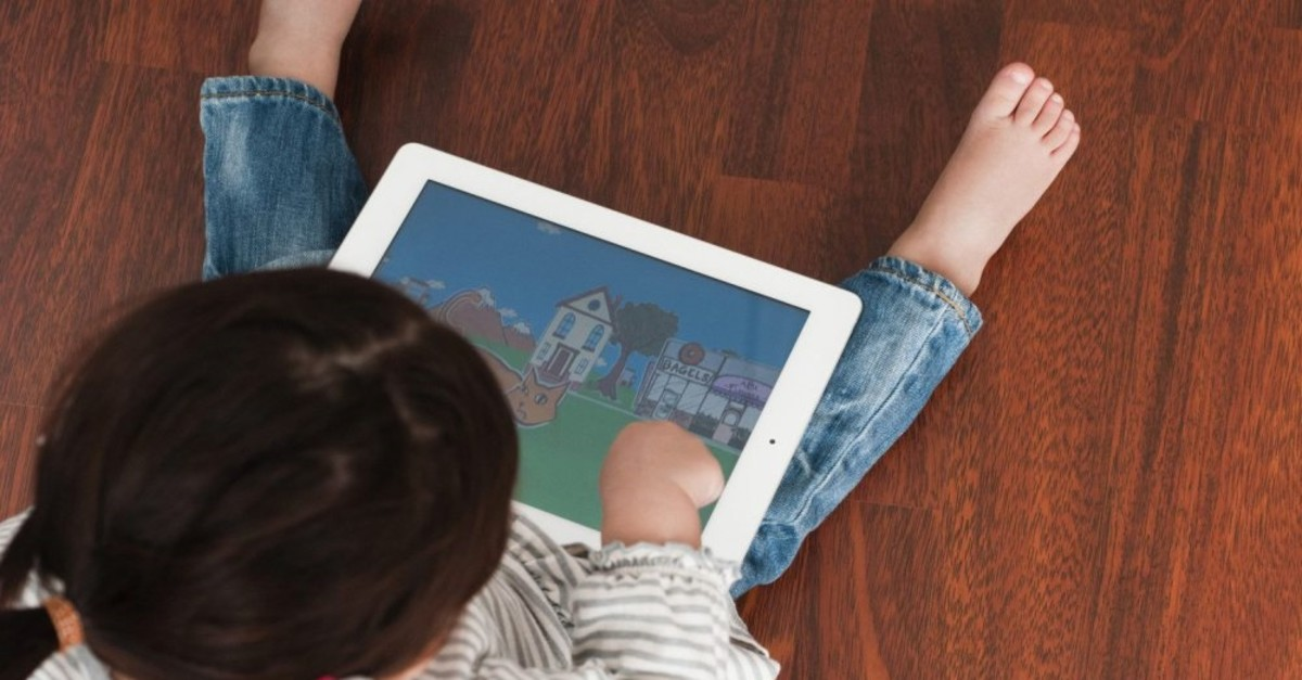Children now begin using tablets, computers and smartphones at a very early age.