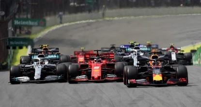 Red Bull's Verstappen wins Brazil Grand Prix as Ferraris crash out