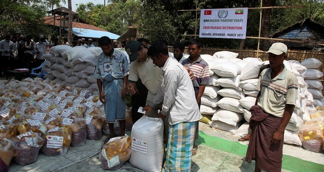 Turkish NGO sends aid to Rohingya Muslims