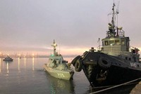 Russia returns 3 seized ships to Ukraine