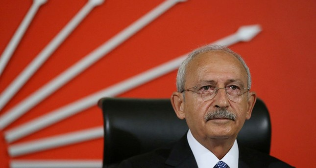 Main opposition Republican People's Party (CHP) leader Kemal Kılıçdaroğlu attents a meeting at the party's headquarters in Ankara, Turkey. (AA Photo)