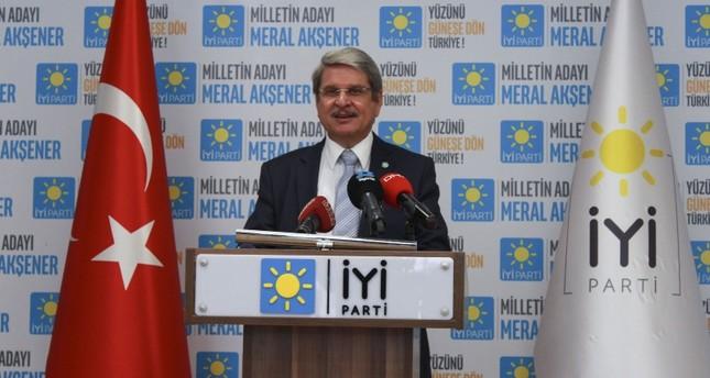 IP Spokesperson Aytun Çıray. (AA Photo)