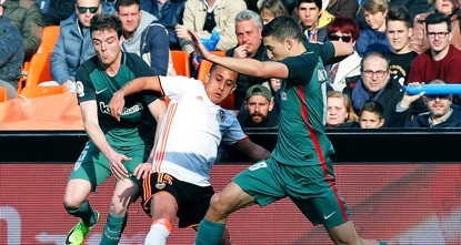 pThe playmaking of new arrival Fabian Orellana inspired Valencia to a much-needed 2-0 victory over Athletic Bilbao in the Spanish league on Sunday./p