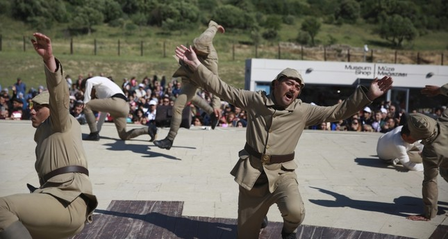 A still from the film Heroes-Şehitler.