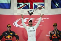 Hamilton one step closer to F1 title with Japan GP victory