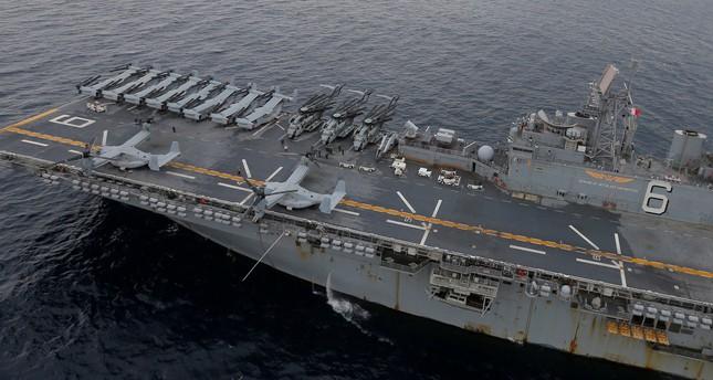 عمليات بحث وإنقاذ لطاقم طائرة عسكرية أمريكية تعرضت لـحادث مؤسف