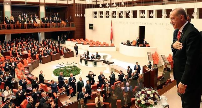 النواب الجدد في البرلمان التركي يؤدون اليمين الدستورية