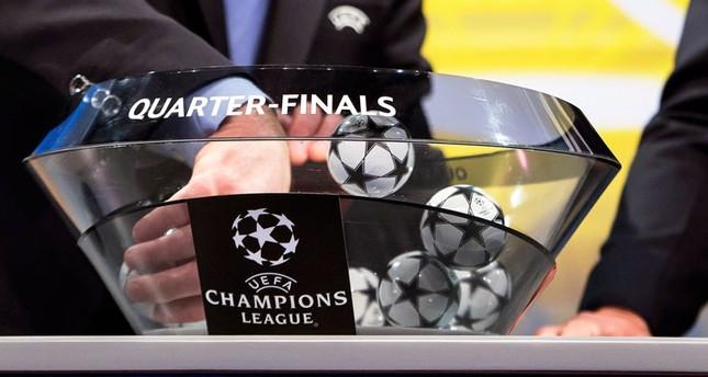 Состоялась жеребьёвка ¼ финала Лиги чемпионов