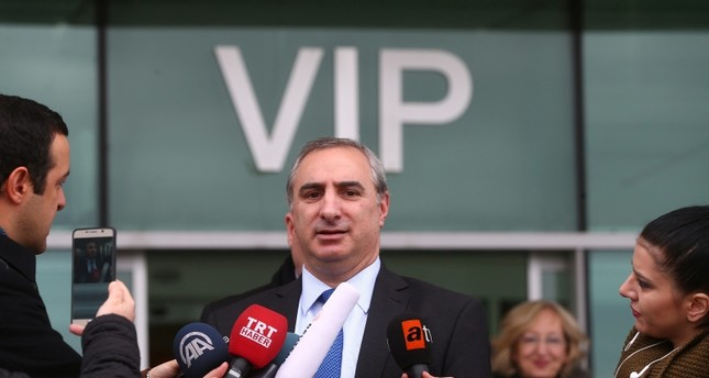 Israeli ambassador Eitan Na'eh  (AA File Photo)