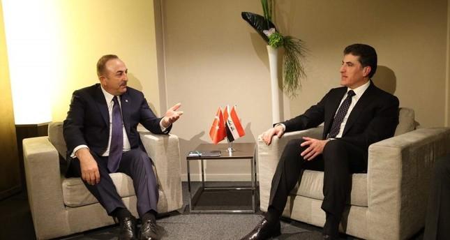 FM Çavuşoğlu meets Iraqi Kurdish leader