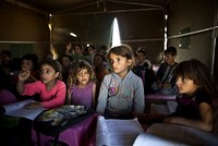 The U.N. children's agency is warning that a critical funding shortfall is threatening aid to 9 million Syrian children, both in their country and among the refugees in neighboring...