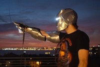 Turkish inventor builds his own AI-powered Iron Man suit