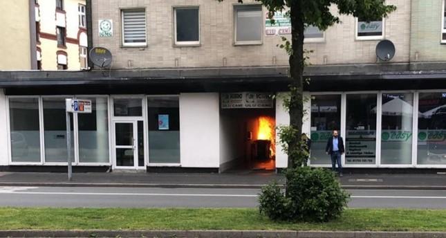 مجهول يضرم النار في مسجد بـهاغن الألمانية