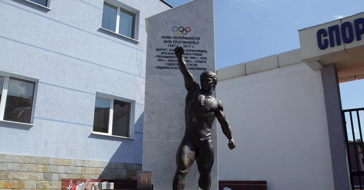 A statue of Naim Su00fcleymanou011flu has recently been erected in his hometown in Bulgaria.