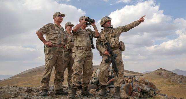 Kommandant: Berge in Van frei von PKK-Terroristen
