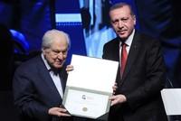 President Erdoğan awards cultural, artistic heritage figures