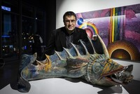 Ahmet Güneştekin's show opens CerModern's new art space